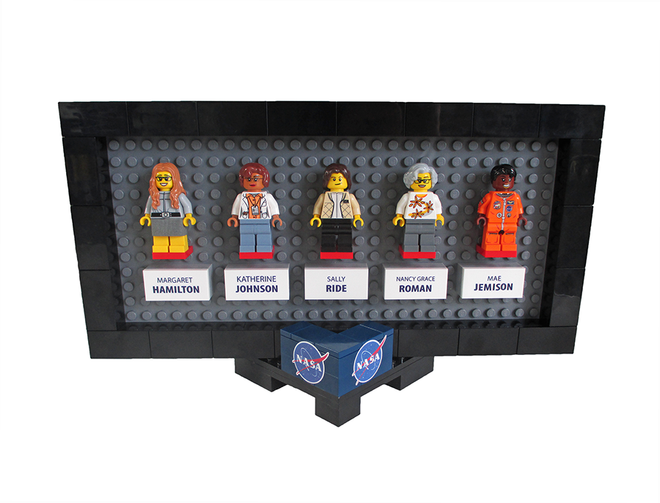 Lego NASA Women tendrá las figuras de cinco mujeres destacadas