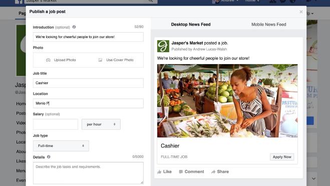 Facebook Bolsas Van Trabajo Las Dónde Linkedin Online Vs De ¿hacia AxFnCqAr