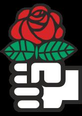 Logotipo de la Internacional Socialista.