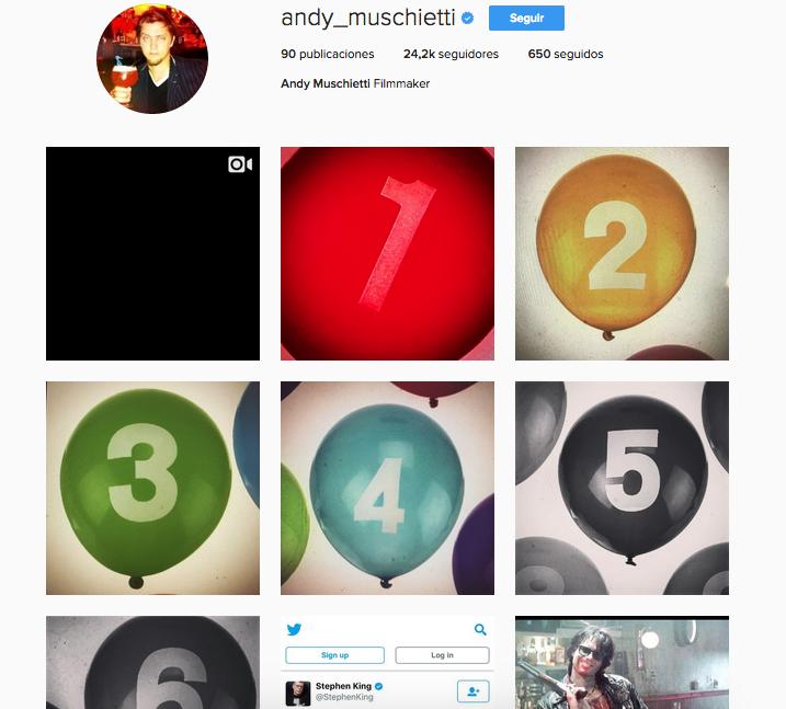 Imagen: Instagram / andy_muschietti