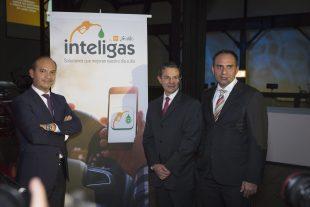 Inteligas fue presentada por José Antonio García León, director general, y Francisco Javier García, director de Producto y Mercadotecnia.