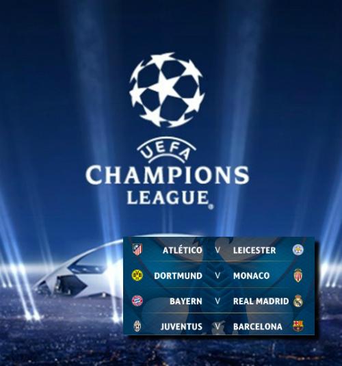 Champions league el sorteo de cuartos asegura grandes for Sorteo champions cuartos 2017