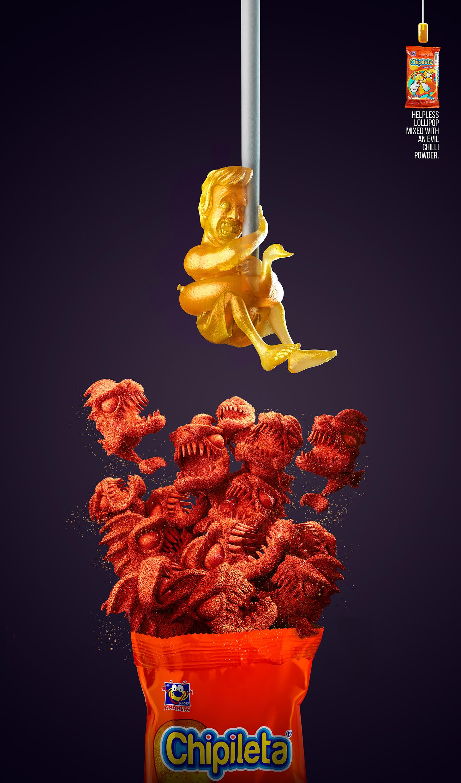 dulces-anahuac-chipileta-piranha-spaceman-hunter-outdoor-print-383269-adeevee