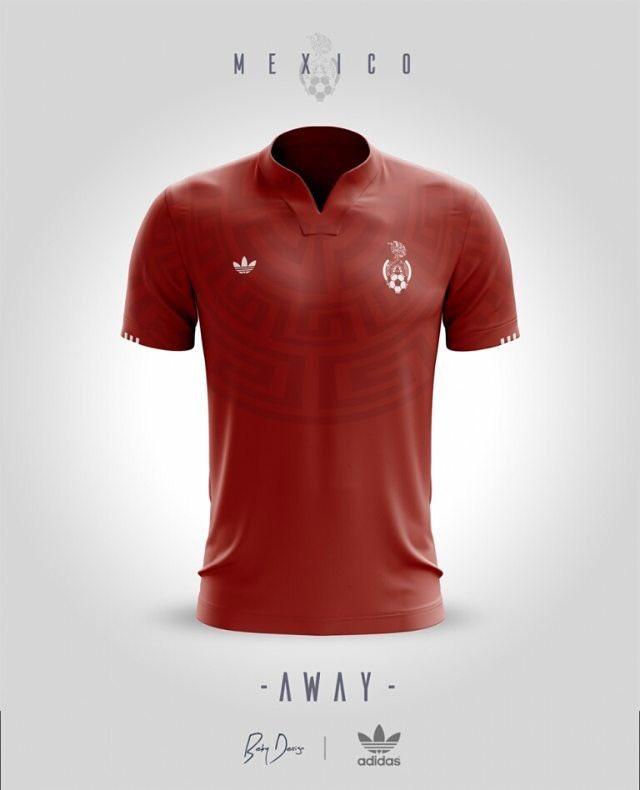 ec9ddde34a2db Se filtra en redes un nuevo jersey de la selección mexicana
