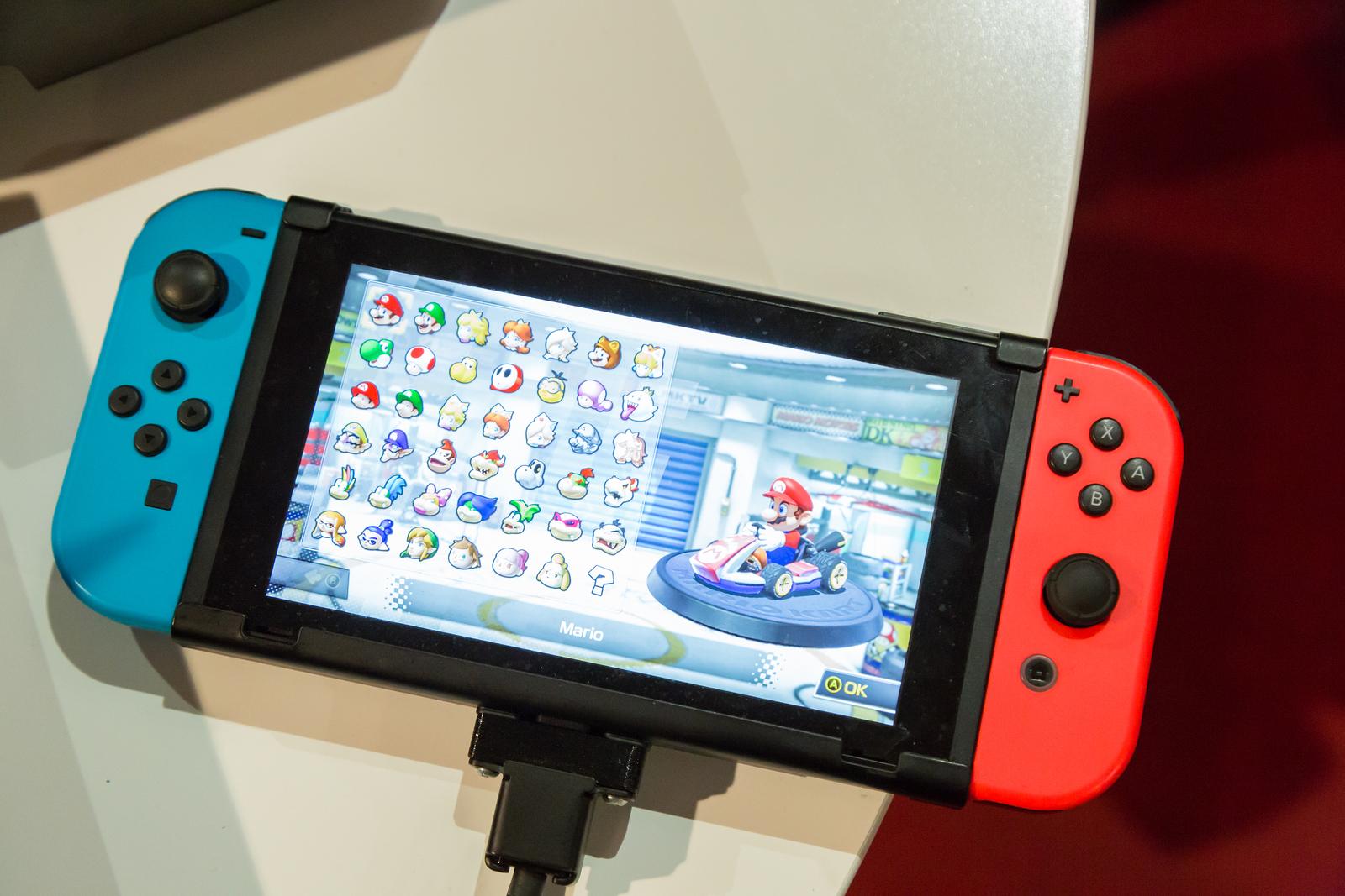 Nintendo Switch llega a Argentina