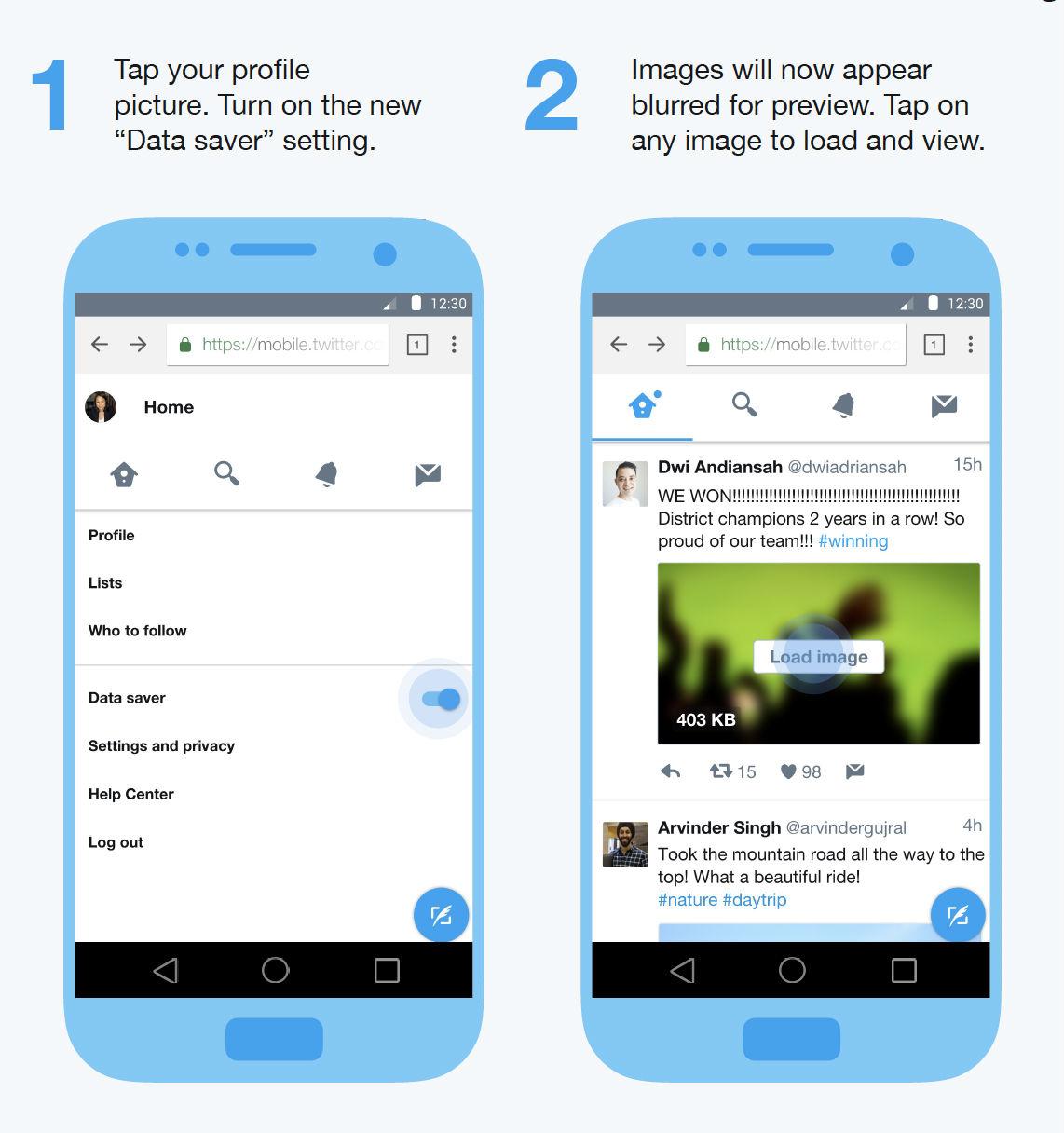 Twitter apostará a la versión Lite para menos consumo de datos
