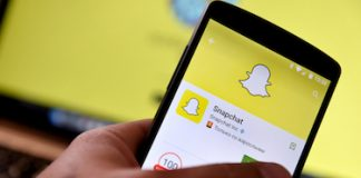 Snapchat Application-Bigstock