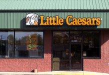 Little Caesars Storefront-burger king