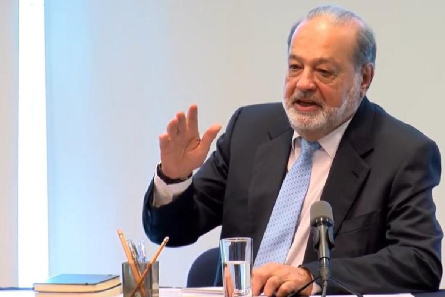 Multimillonario Carlos Slim hace una propuesta para combatir la pobreza