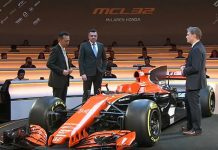 La presentación del McLaren 2017. Foto: Honda.