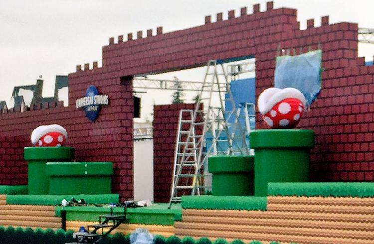 Un vistazo al futuro del parque Super Nintendo World