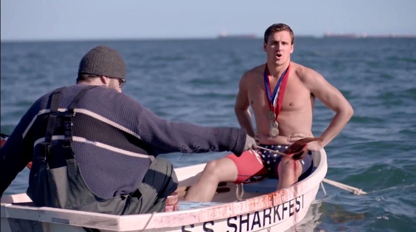 Quién ganó la carrera entre Phelps y un tiburón blanco