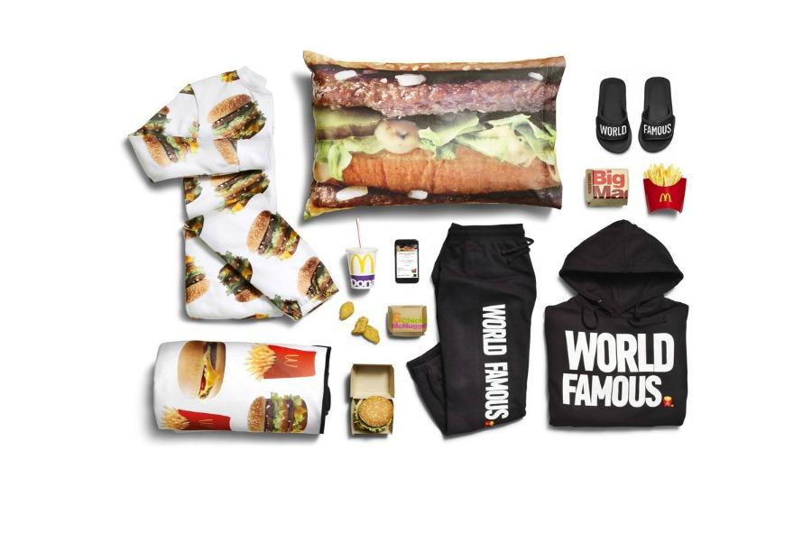 McDonald's saca colección especial de ropa con estampados de su menú