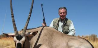 Miguel Blesa, de caza, una de sus mayores aficiones. Foto: Facebook.