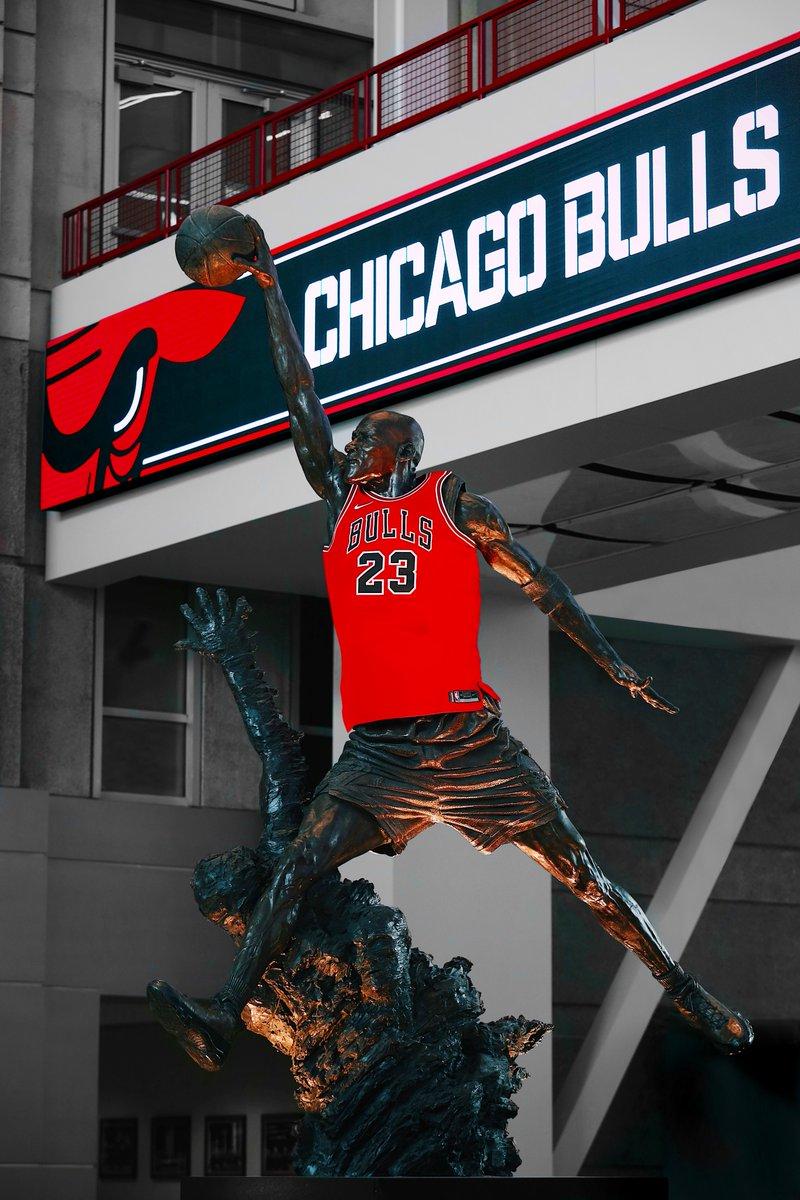 chicago bulls lucen su cl225sico uniforme� ahora rojo para