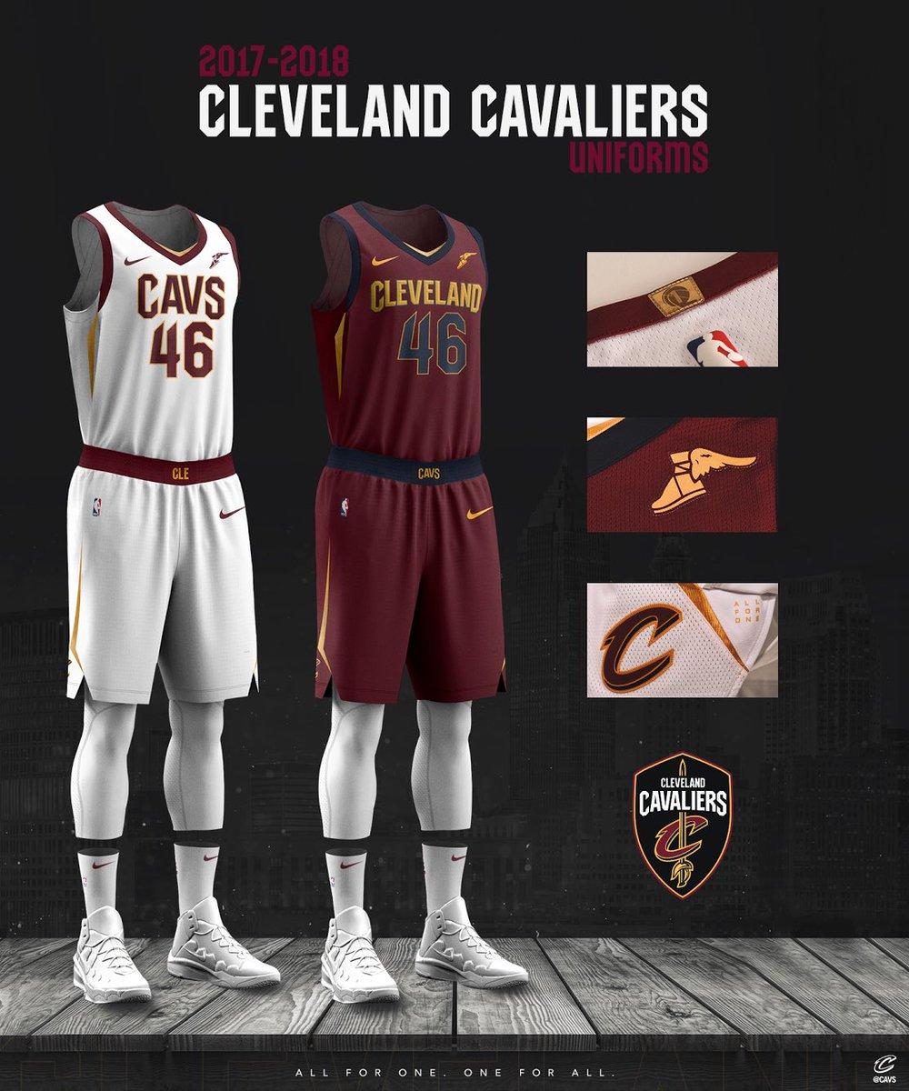 uniformes nike nba 2017