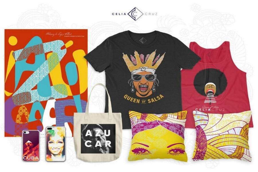 Sale al mercado tienda de ropa y accesorios oficial de Celia Cruz