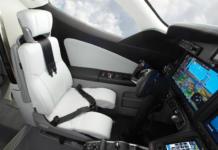 Honda Jet en su interior. Fotos: Honda.