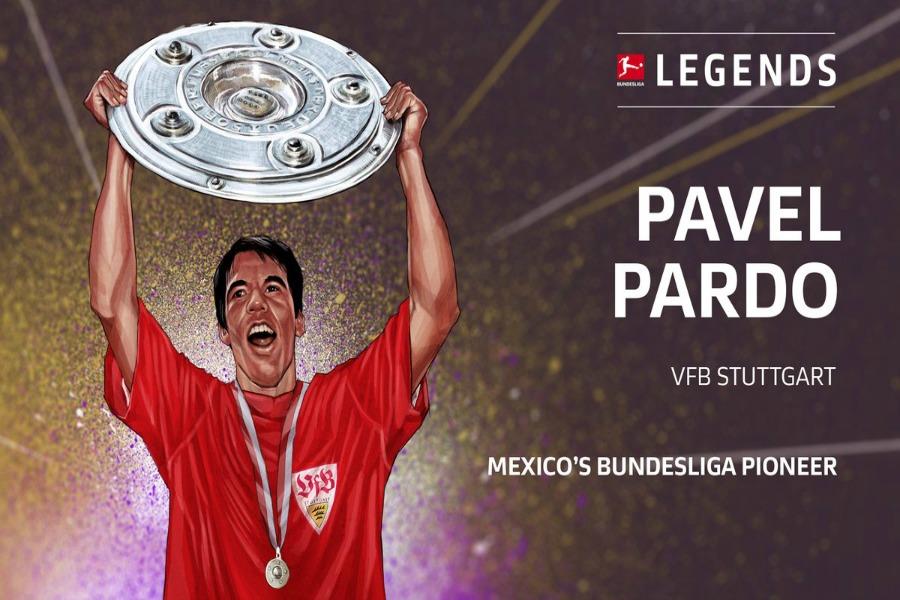Pável Pardo será embajador de la Bundesliga