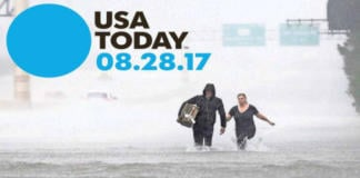 Parte de la portada de Usa Today.