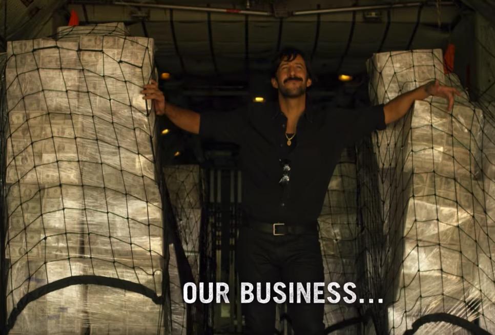 José María Yazpik como Amado Carrillo. Imagen: Netflix