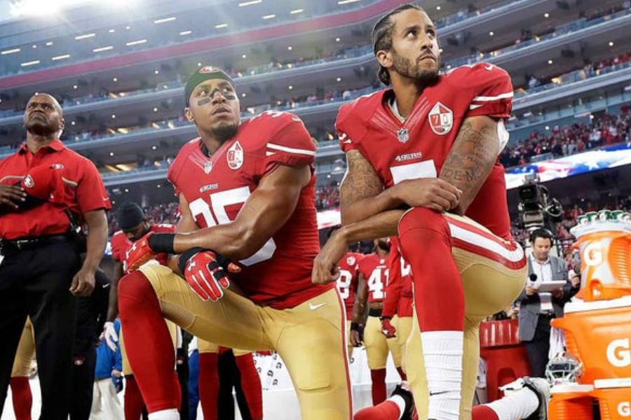 Aumentan protestas de jugadores de NFL en contra de Donald Trump