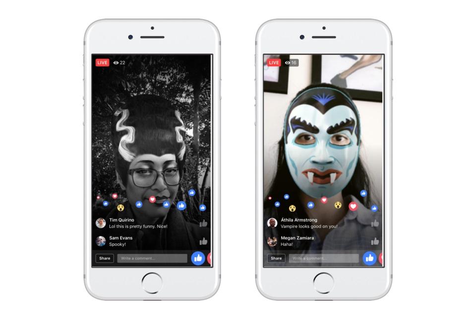 Facebook-Halloween-live-white