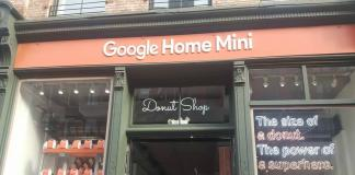 Google tienda de donas