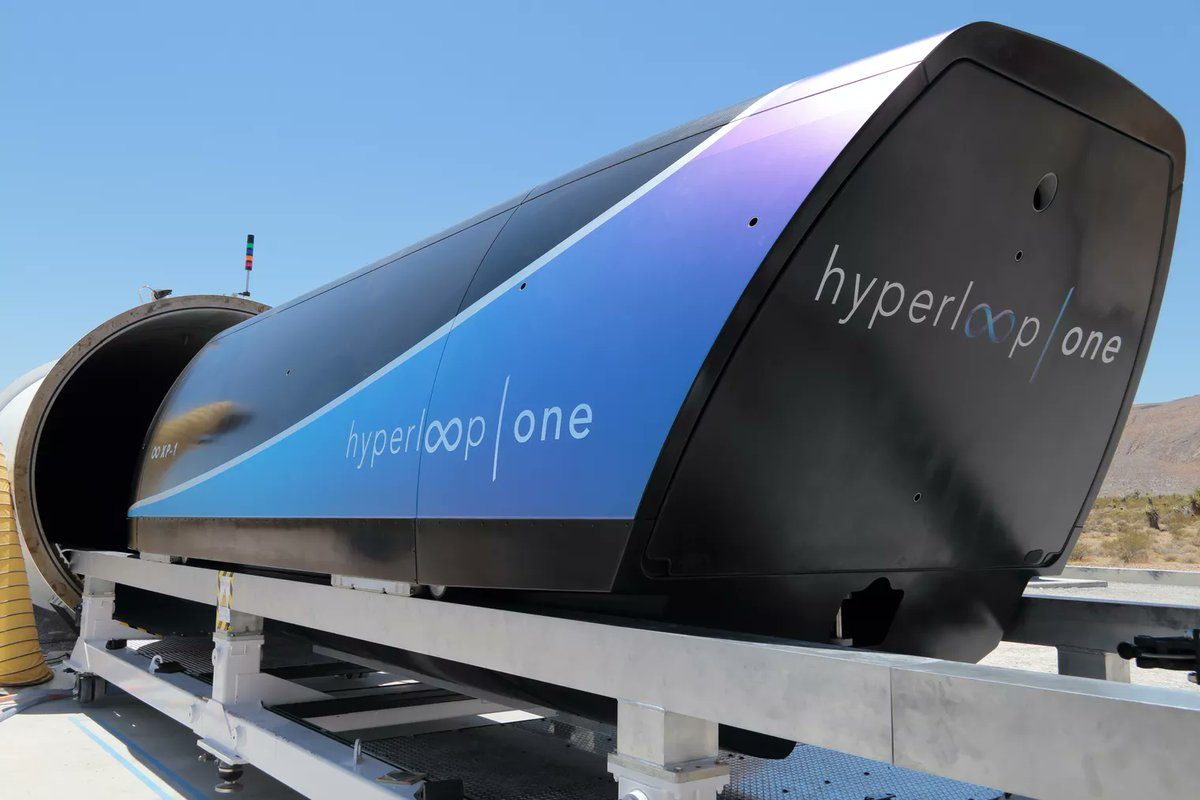 Richard Branson invierte en Hyperloop One — Virgin Hyperloop One""