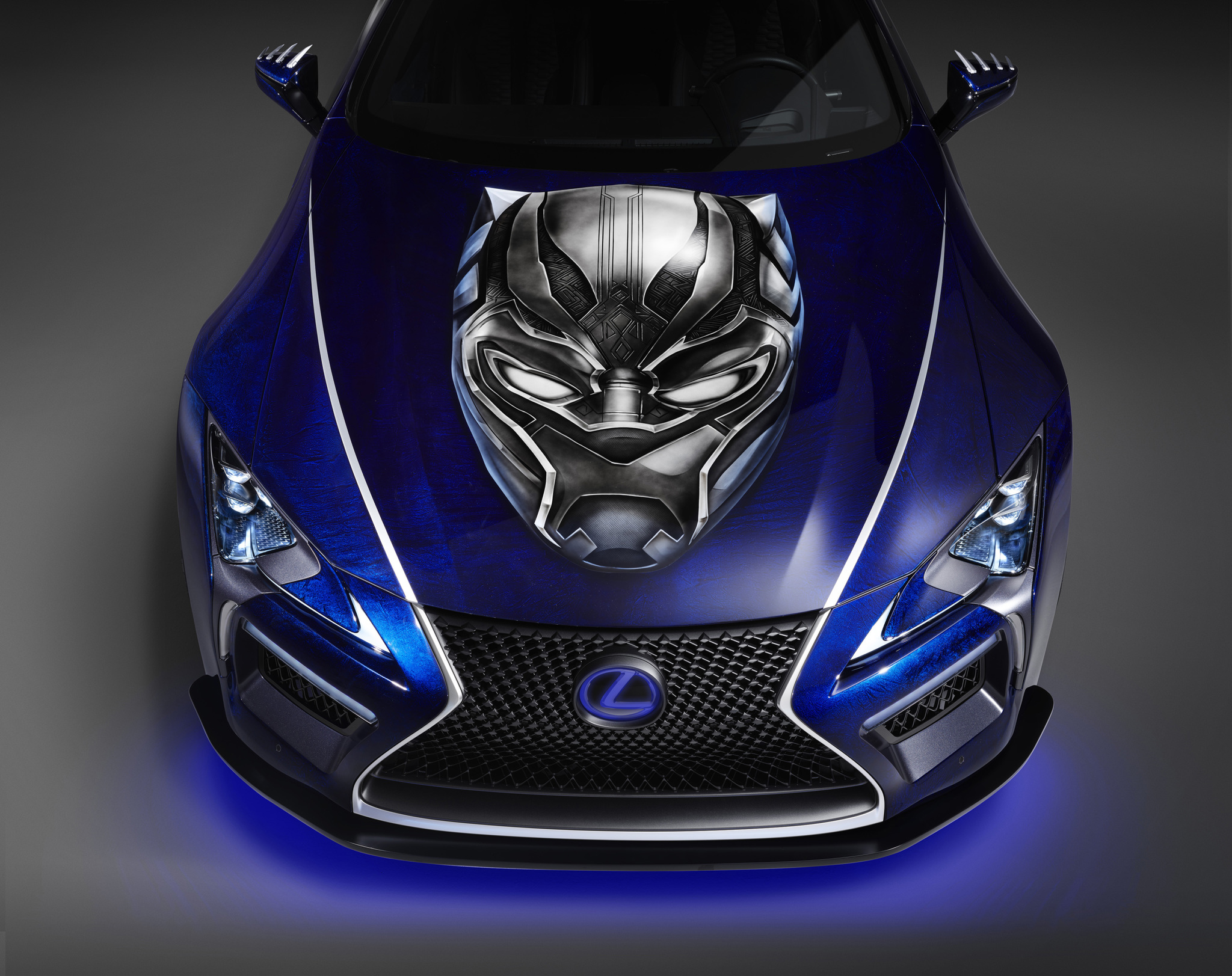 Lexus-Marvel-Black Panther-Inspired LC-01