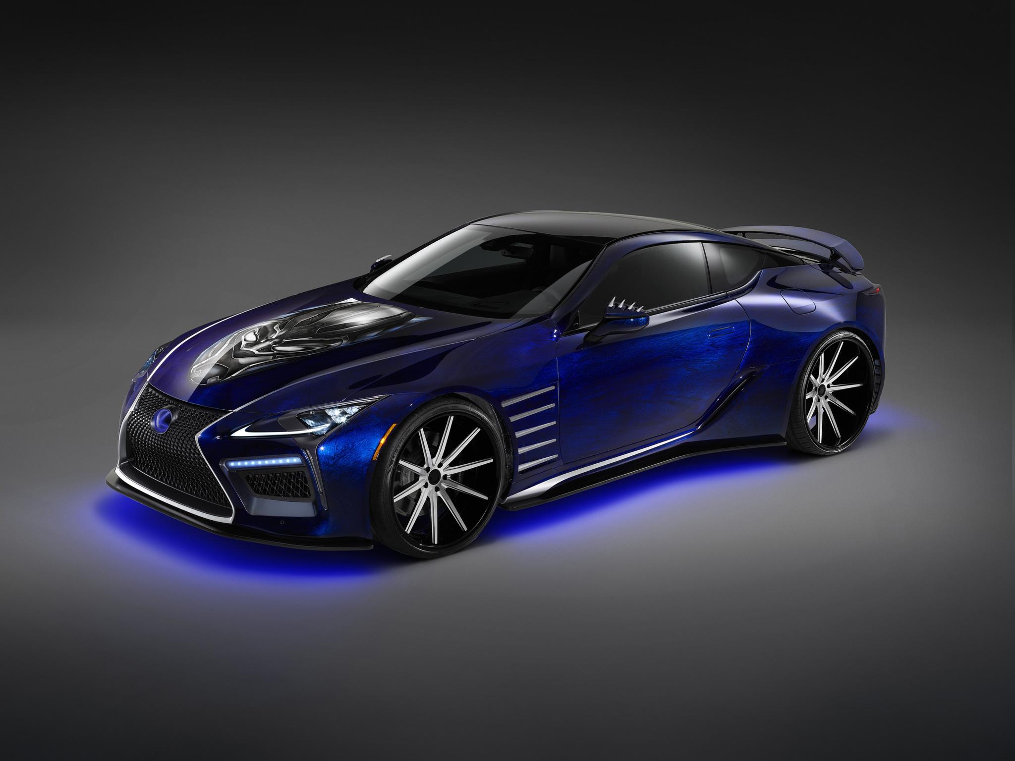 Lexus-Marvel-Black Panther-Inspired LC-02