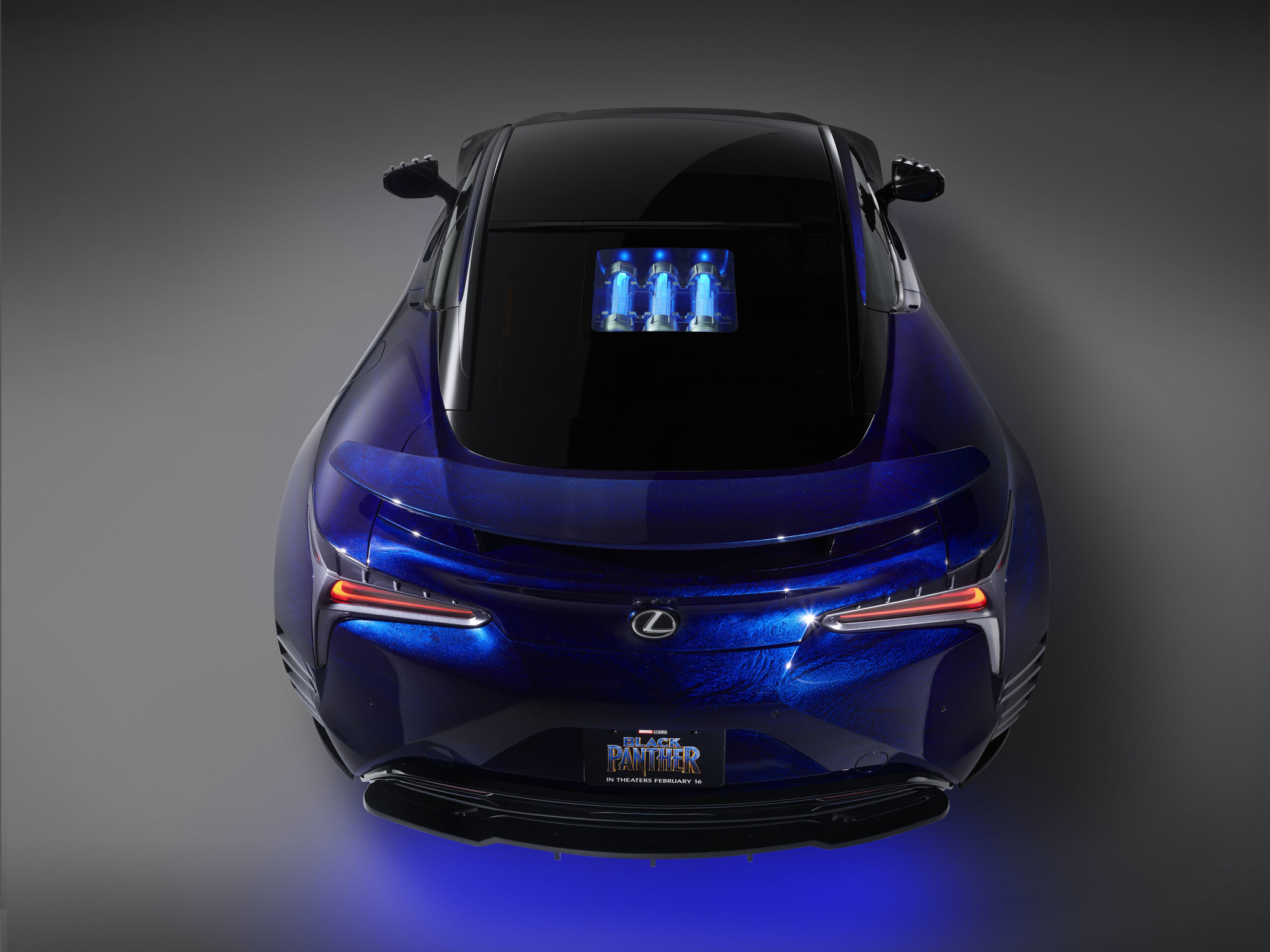 Lexus-Marvel-Black Panther-Inspired LC-03