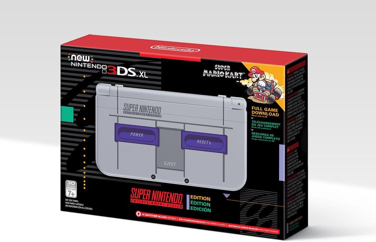 Nintendo lanza un 3DS XL SNES Edition, exclusiva de Amazon