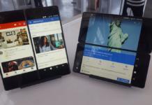 ZTE-AXON M-smartphone