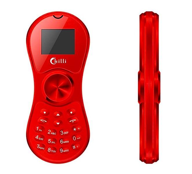 Inventan celular que también es 'fidget spinner'