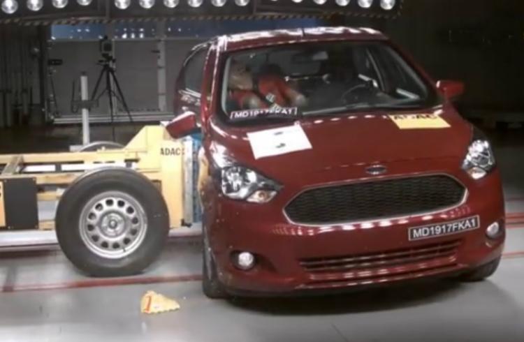 Cero Le Dio La Prueba De Seguridad Al Ford Ka Para Latinoamerica