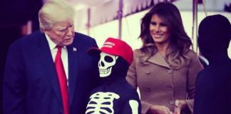 Celebración de Halloween en la Casa Blanca. Foto: @FLOTUS
