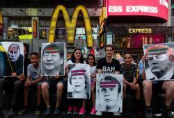 Las campañas de ICAN incluyen intervenciones en las grandes ciudades. Foto: ICAN.