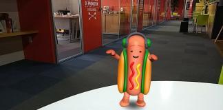 El hot-dog de Snapchat es lo único que no le han copiado a la app, hasta el momento.
