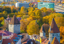 Tallinn, capital de Estonia.