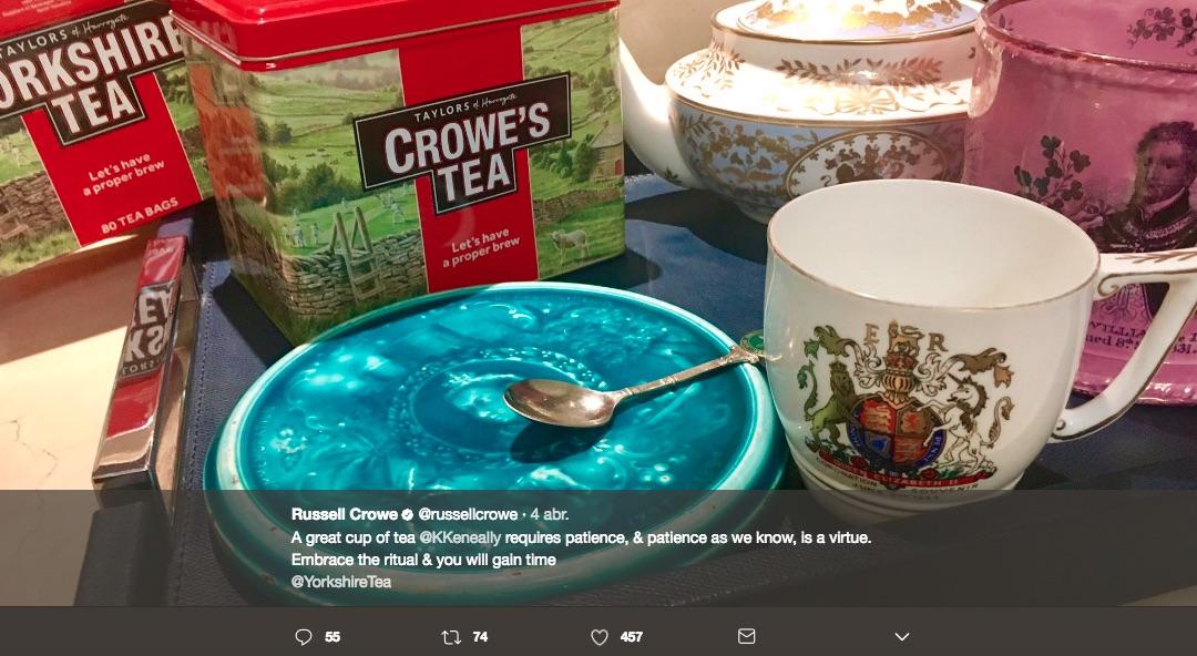 Qu hay detr s de crowe 39 s tea la marca de t de russell - Marcas de te ...