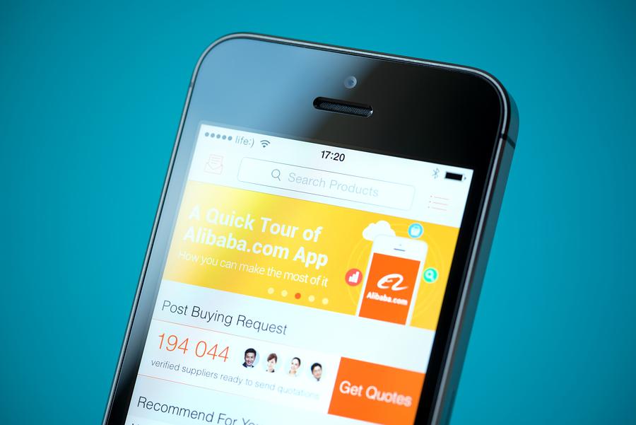 Alibaba vende artículos por 1.500 millones de dólares en tres minutos