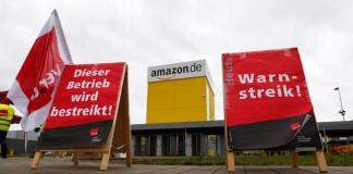 Amazon-Strike Friday-Huelga-Alemania-Italia