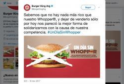 Burger King-Argentina-Un dia sin Whopper