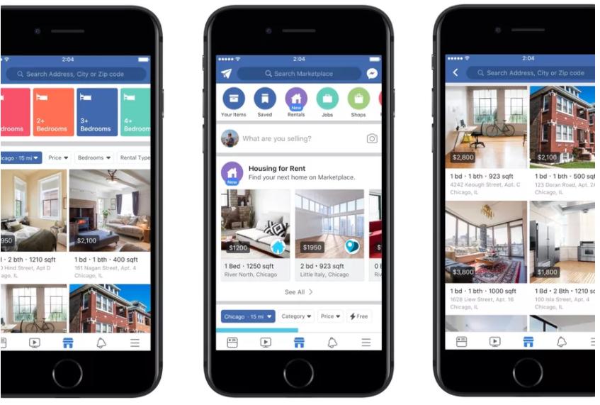 Facebook Airbnb