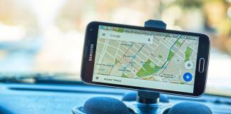 Google Maps Application.