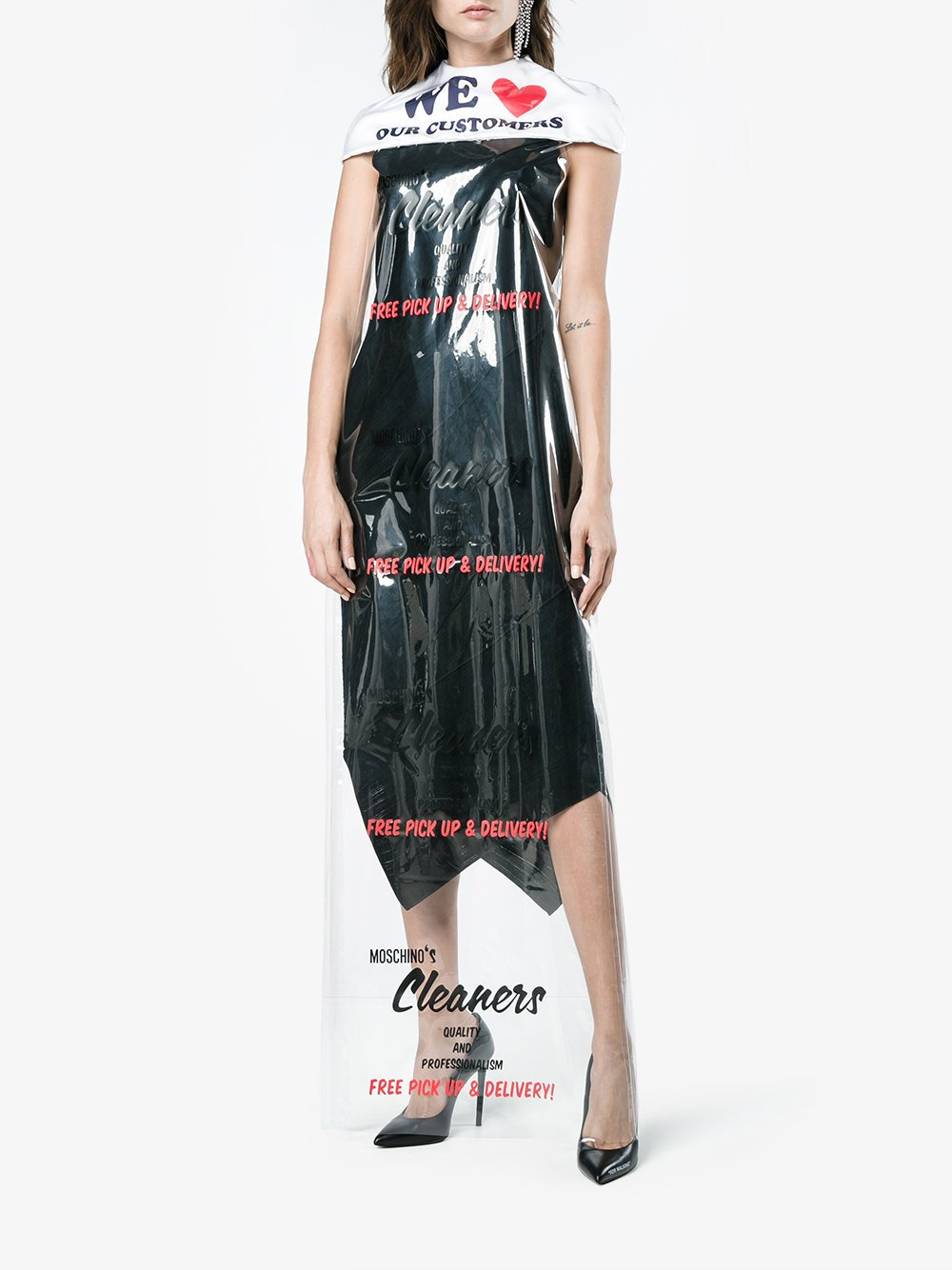 Moschino-vestido-bolsa de plastico-Brown-02