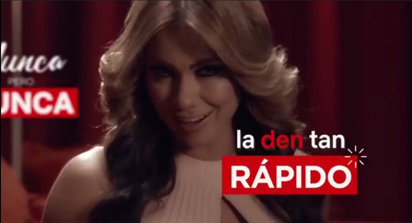 Netflix-Esperanza Gomez-nunca la den rapido