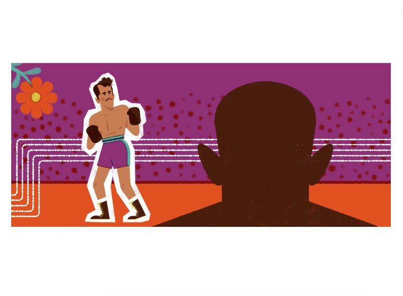 Pedro Infante-Doodle-Google