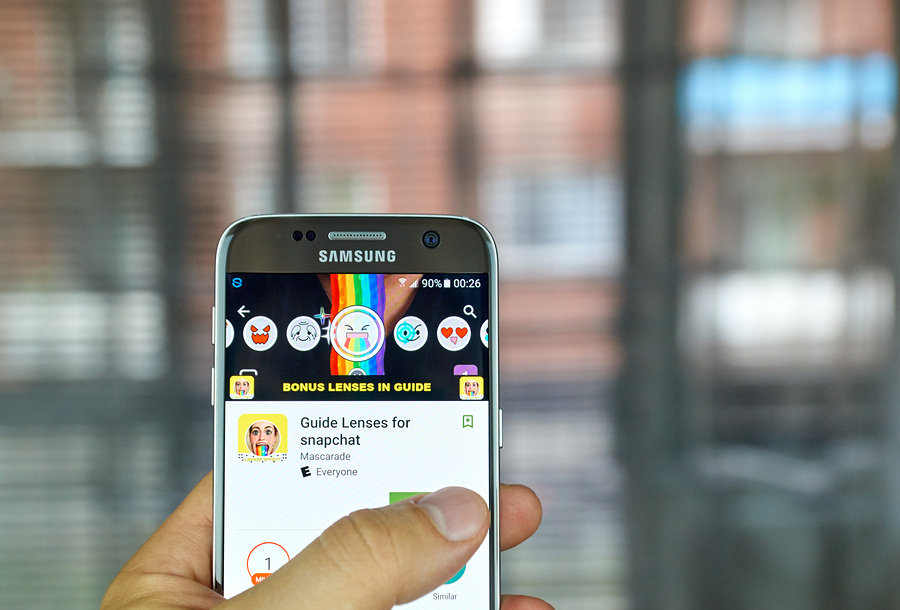 Snapchat-Tencent-Bigstock
